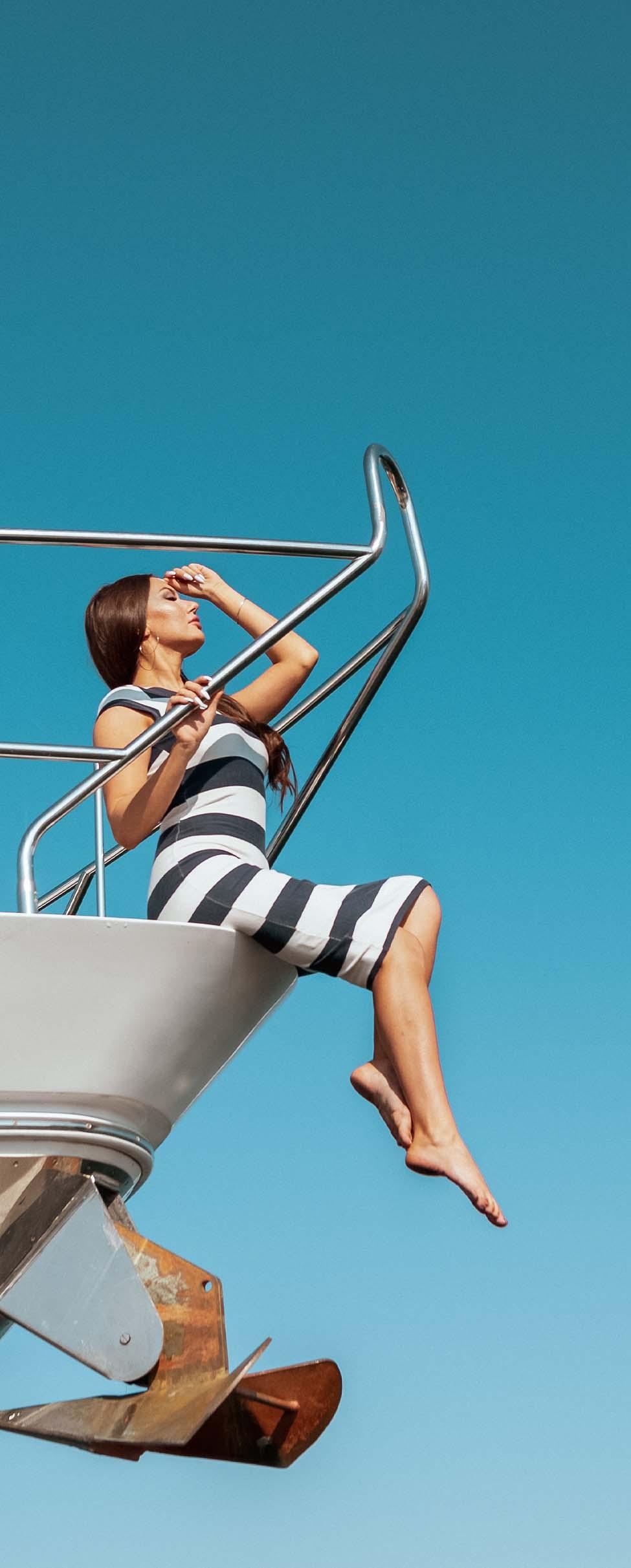 Monaco Yacht Show, vista aerea
